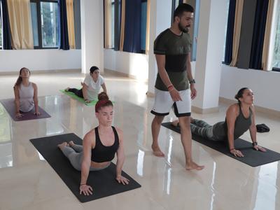Yoga Class Rishikesh