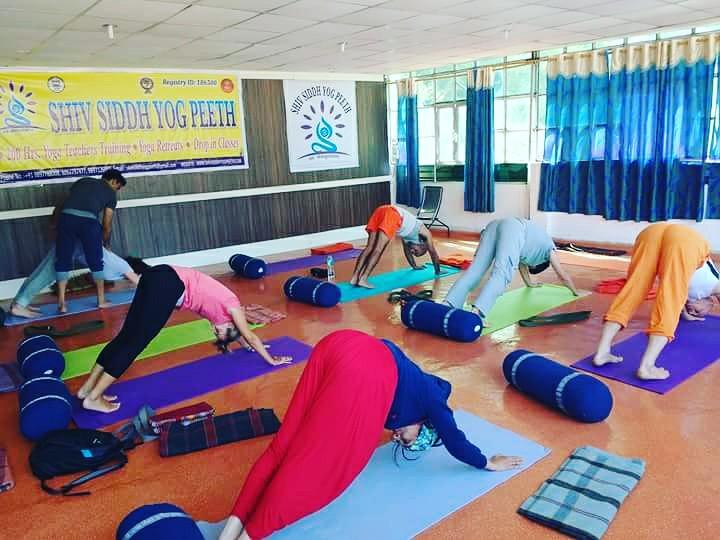 Hatha Yoga Class In Rishikesh